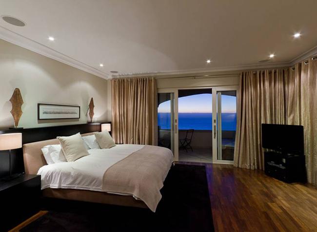 Luxusvilla blue dream in camps bay cape town elegante ausstattung - Elegante schlafzimmer ...